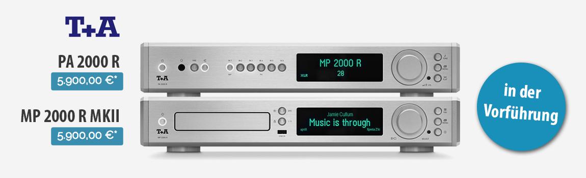 T+A PA 2000 R und MP 2000 R